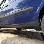 Защита порогов автомобиля