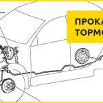 Прокачка тормозов ABS