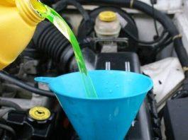 Замена охлаждающей жидкости Логан