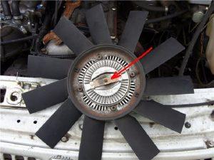 Гидромуфта вентилятора