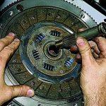 Как поменять диск сцепления