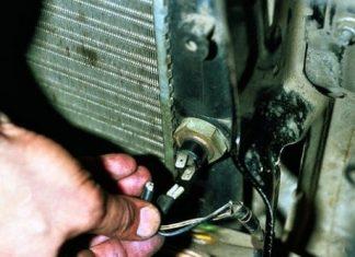 Датчик включения вентилятора радиатора устройство принцип работы