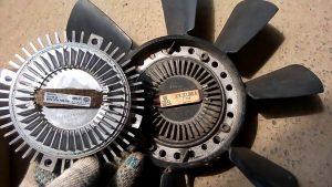 Вискомуфта вентилятора устройство