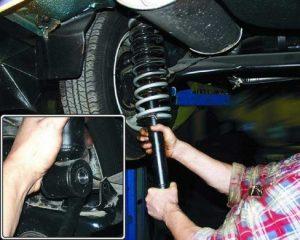 Неисправности задних амортизаторов ВАЗ 2110 признаки