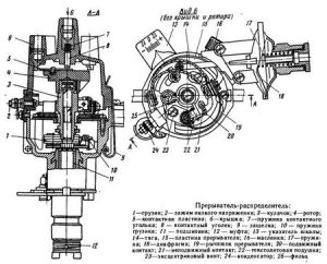 Схема трамблера