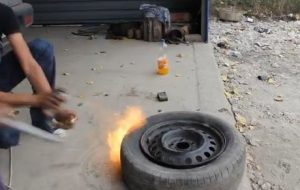 Как бортировать бескамерную шину в домашних условиях способы